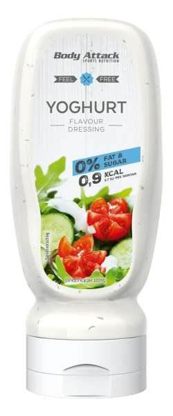 Body Attack Yoghurt Dressing, 320ml