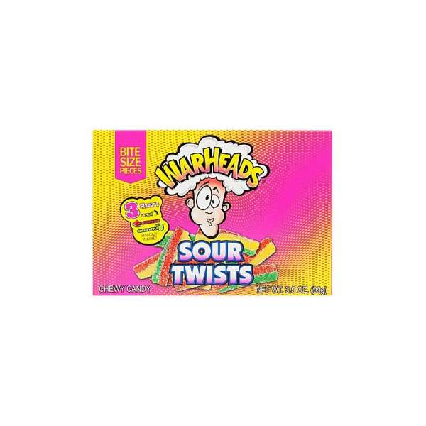 Impact Confections Warheads Sour Twists, 99g