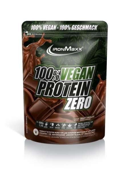 Ironmaxx 100% Vegan Protein Zero, 500g