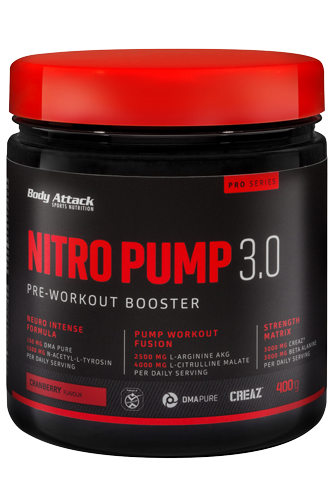 Body Attack Nitro Pump 3.0, 400g