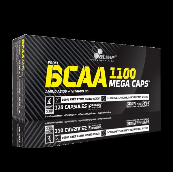 Olimp BCAA Mega Caps 1100, 120 Kapseln