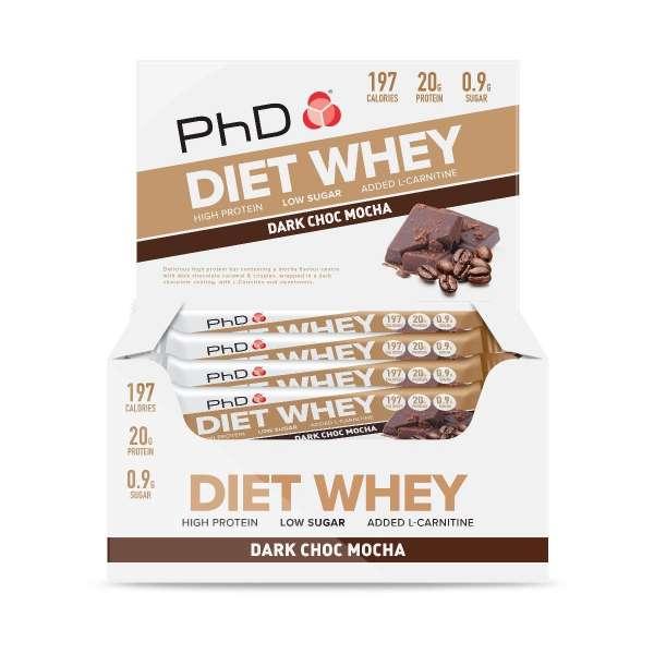PhD Diet Whey Bar, 65g
