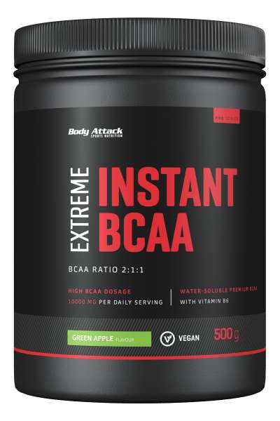 Body Attack Instant BCAA, 500g