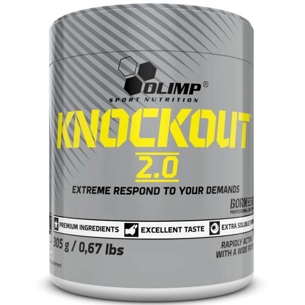 Olimp Knockout 2.0 Pre Workout, 305g