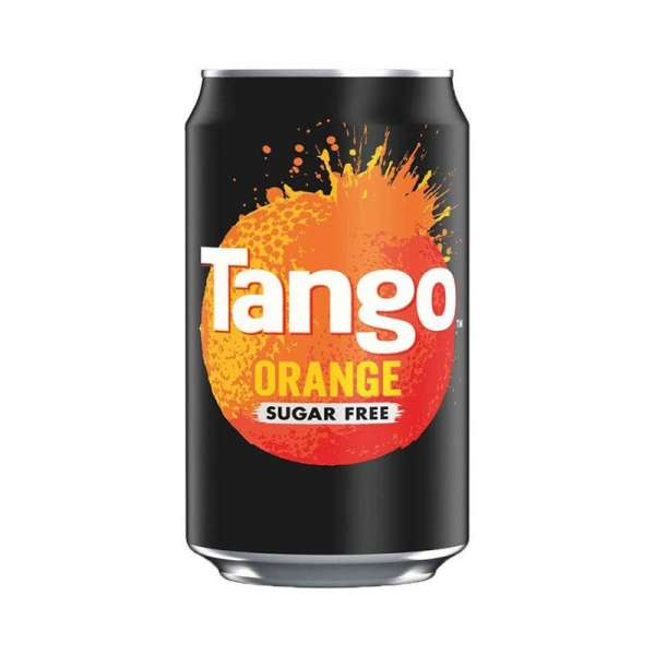 Tango Orange Sugar Free, 24 x 330 ml