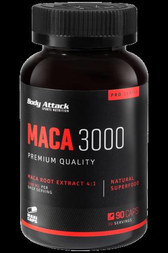 Body Attack Maca 3000, 90 Kapseln