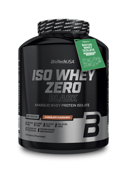 Biotech USA Iso Whey Zero Black, 2270g