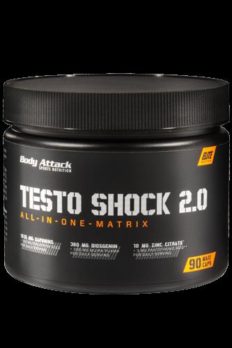 Body Attack Testo Shock 2.0, 90 Kapseln