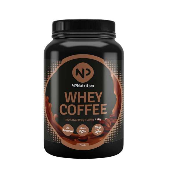 NP Nutrition Whey Coffee, 1kg