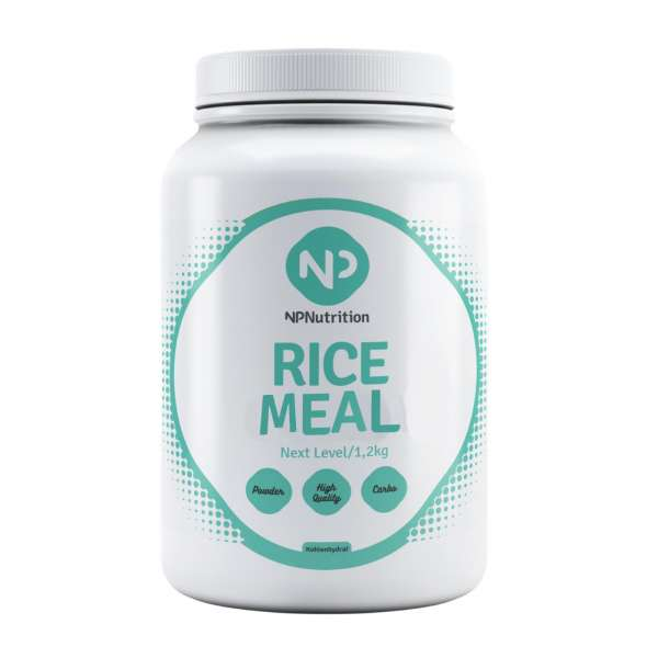 NP Nutrition - Rice Meal, 1200g