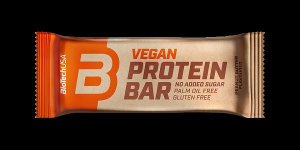 Biotech USA Vegan Protein Bar, 50g MHD 27.01.21