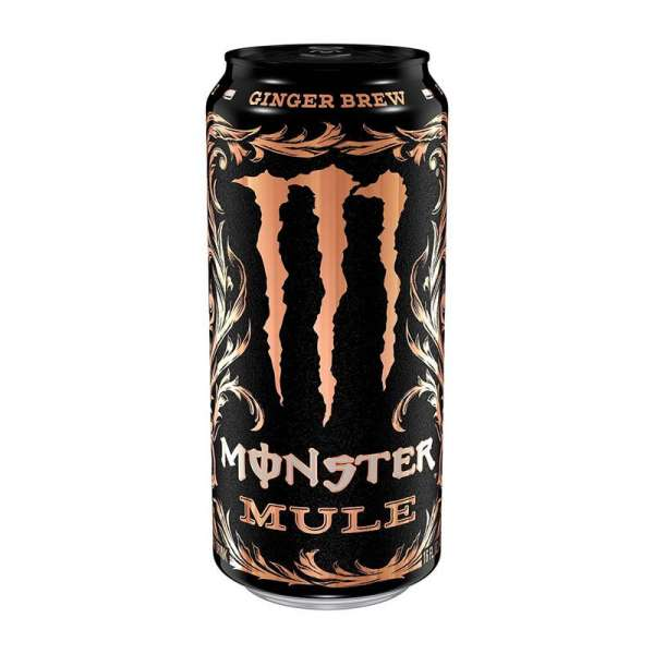 Monster Mule Ginger Brew Zero Sugar, 500 ml