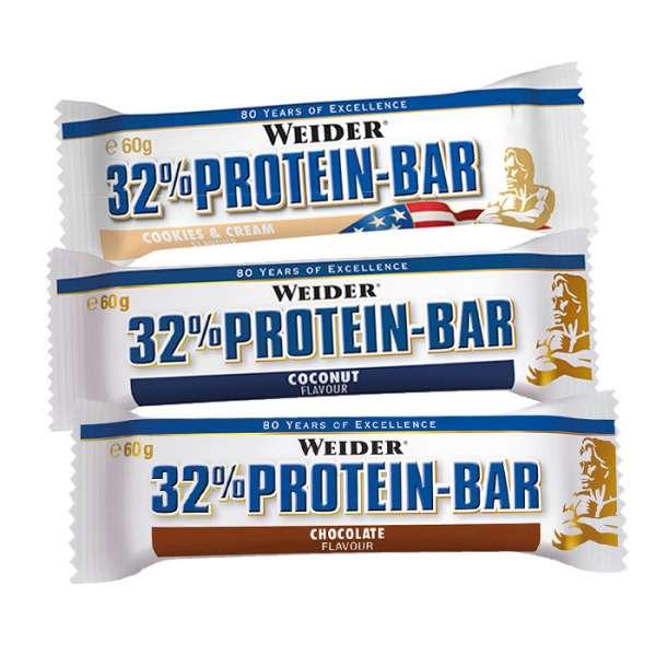 Weider 32% Protein Bar, 60g