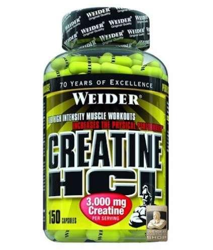 Weider Creatine HCL, 150 Kapseln